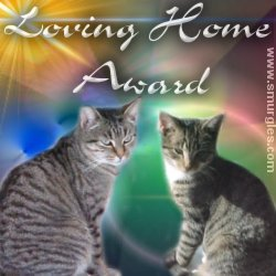 Loving Home Award from Jelly and Angie - Smurgles