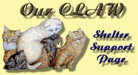 Our CLAW Shelter Page