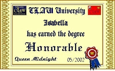 Honorable Degree