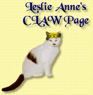 Leslie Anne's CLAW Page
