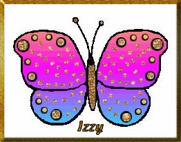 Izzy's Butterfly