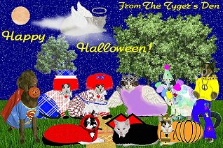 Go to the Halloween picnic at The Tygers Den