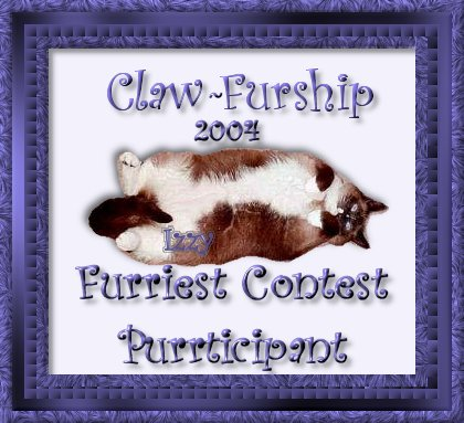 Furship contest purrticipant