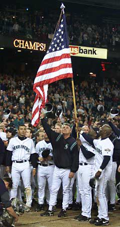 Seattle Mariners ceremony