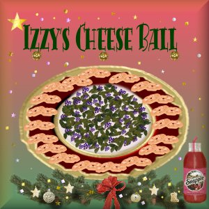 Click here for Izzy's Cheeseball Recipe